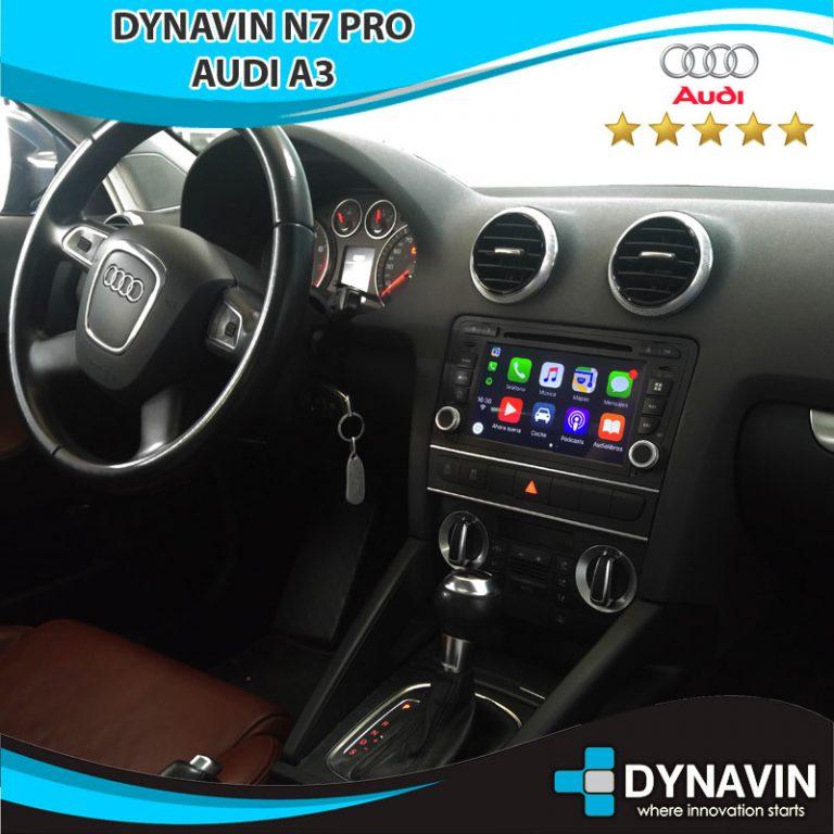 Audi A3 con Dynavin N7 PRO