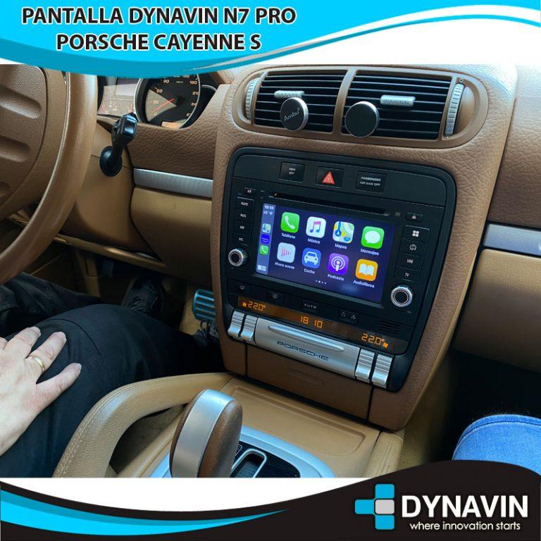Porsche Cayenne S con CarPlay en Dynavin N7 PRO