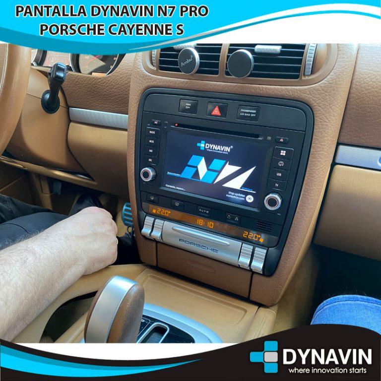 Porsche Cayenne S con Dynavin N7 PRO