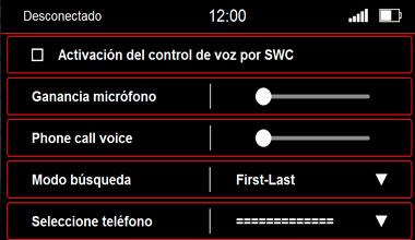 7 Menú Control de Voz