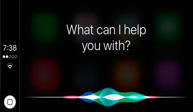 Control por Voz Siri