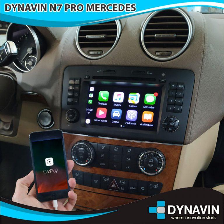 Mercedes GL 220 Dynavin N7 PRO