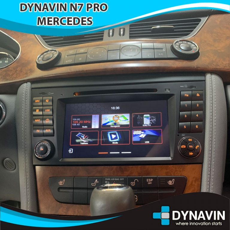 N7-MBE-PRO Mercedes Dynavin N7