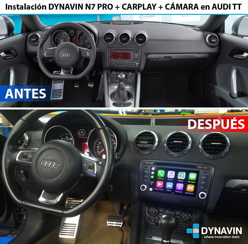 Audi TT Pantalla Dynavin