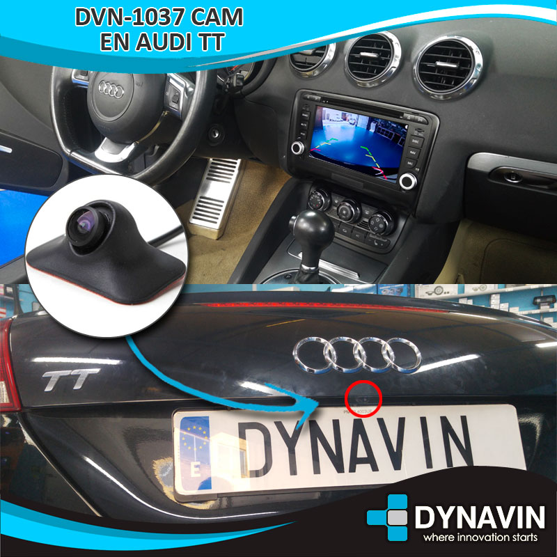 Audi TT Cámara Trasera DVN 1037