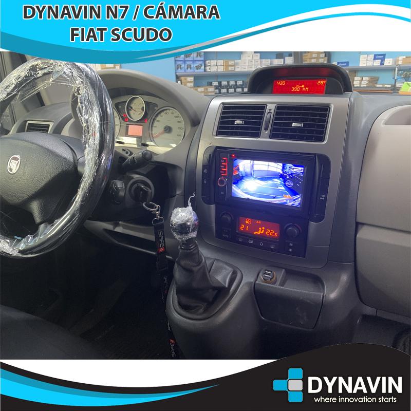 Dynavin N7 Fiat Scudo Cámara