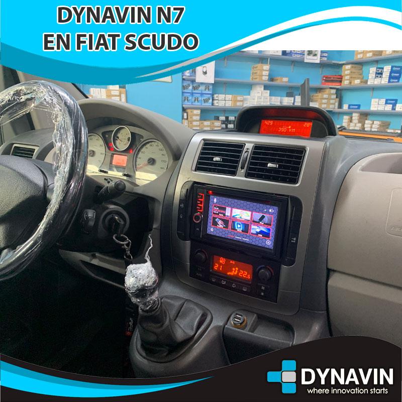 Dynavin N7 Fiat Scudo