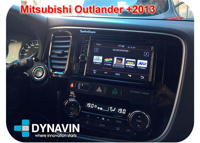 Dynavin N7 Mitsubishi Outlander 2013