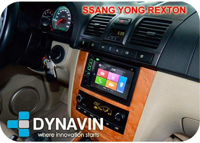 Dynavin N7 SSang Yong Rexton