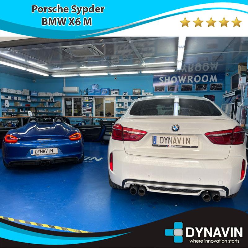 Porsche Spyder - BMW x6