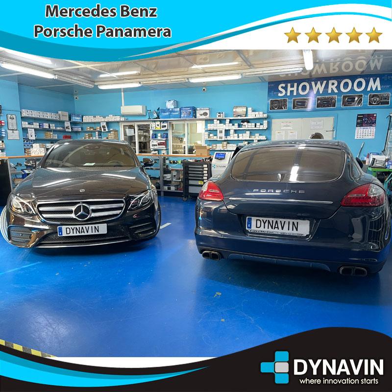 Mercedes y Porsche Panamera