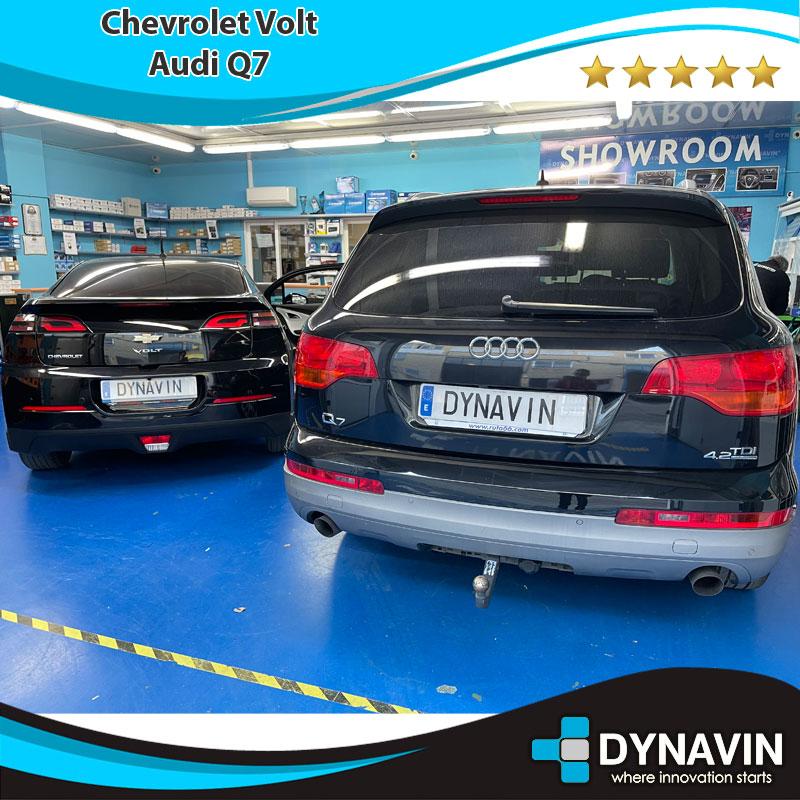 Chevrolet y Audi Q7